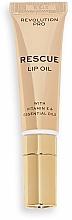 Parfums et Produits cosmétiques Huile à la vitamine E pour lèvres - Revolution Pro Rescue Lip Oil