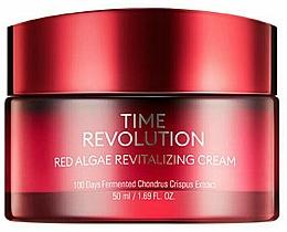 Parfums et Produits cosmétiques Crème à l'extrait d'algues rouges pour visage - Missha Time Revolution Red Algae Revitalizing Cream