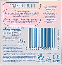 Préservatifs, 3 pcs - Durex Invisible Extra Large XL — Photo N2