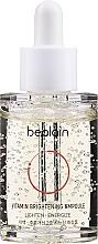 Parfums et Produits cosmétiques Sérum en ampoule au panthénol pour visage - Be Plain Vitamin Brightening Ampoule