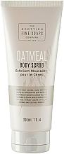 Parfums et Produits cosmétiques Exfoliant moussant à l'extrait de lait d'avoine pour corps - Scottish Fine Soaps Oatmeal Body Scrub