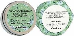 Parfums et Produits cosmétiques Gomme coiffante à fixation moyenne - Davines More Inside Medium Hold Finishing Gum