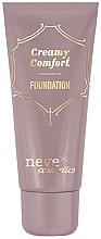 Parfums et Produits cosmétiques Fond de teint crémeux - Neve Cosmetics Creamy Comfort