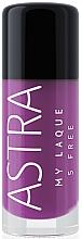 Parfums et Produits cosmétiques Vernis à ongles - Astra Make-up My Laque 5 Free
