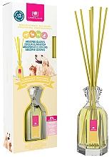 Parfums et Produits cosmétiques Diffuseur de parfum éliminateur d'odeurs, Fleurs blanches - Cristalinas Reed Diffuser