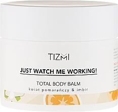 Parfums et Produits cosmétiques Baume corporel à la fleur d'oranger et gingembre - Tizmi Total Body Balm Orange Blossom & Ginger