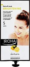 Parfums et Produits cosmétiques Masque peel-ff au citron pour visage - Iroha Nature Brightening Peel-Off Mask Lemon
