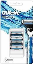 Parfums et Produits cosmétiques Lot de 4 lames de rasoir - Gillette Mach3 Start