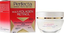Parfums et Produits cosmétiques Crème de jour et nuit liftante au rétinol SPF 6 - Dax Cosmetics Perfecta Multi-Collagen Retinol Face Cream 60+