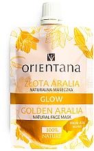 Parfums et Produits cosmétiques Masque visage naturel ''Aralia d'or'' - Orientana Glow Natural Face Mask Golden Aralia