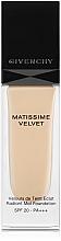 Parfums et Produits cosmétiques Fond de teint matifiant - Givenchy Matissime Velvet Liquid Foundation SPF 20