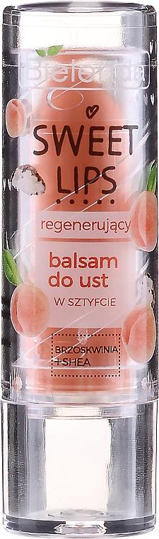 Baume à lèvres au beurre de karité - Bielenda Sweet Lips Regenerating Lip Balm