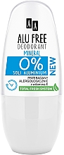 Parfums et Produits cosmétiques Déodorant roll-on à la vitamine E - AA Roll-on Alu Free Mineral