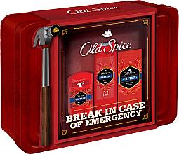 Parfums et Produits cosmétiques Coffret cadeau - Old Spice Captain Grooming Tin (deo/50g + sh/gel/250ml + ash/lot/100ml)