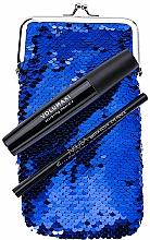 Parfums et Produits cosmétiques Coffret cadeau - NoUBA Eye'M Volumaxi Sculpting Mascara (mascara/18ml + eye/pen/1.1g + bag)