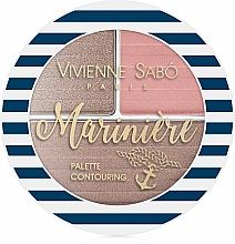 Parfums et Produits cosmétiques Palette contouring - Vivienne Sabo Mariniere Palette Contouring