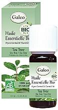 Parfums et Produits cosmétiques Huile essentielle bio d'arbre à thé - Galeo Organic Essential Oil Tea Tree