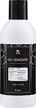 Dissolvant pour vernis semi-permanent - F.O.X Gel Remover  — Photo N3