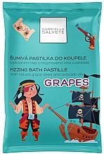 Parfums et Produits cosmétiques Pastille de bain pétillant, Raisin - Gabriella Salvete Fizzing Bath Pastille Grapes