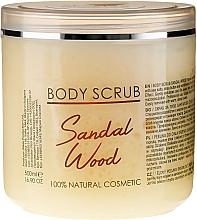 Parfums et Produits cosmétiques Gommage à l'huile de bois de santal pour corps - Sezmar Collection Professional Body Scrub Sandal Wood