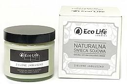 Parfums et Produits cosmétiques Bougie parfumée en cire de soja naturelle, Pomme verte - Eco Life Candles