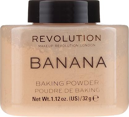 Poudre de baking pour visage - Makeup Revolution Banana Baking Powder