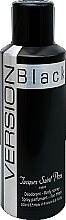 Parfums et Produits cosmétiques Ulric de Varens Version Black - Déodorant spray parfumé