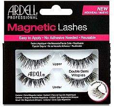 Parfums et Produits cosmétiques Faux-cils magnétiques (supérieurs et inférieurs) - Ardell Magnetic Strip Lash Double Demi Wispies
