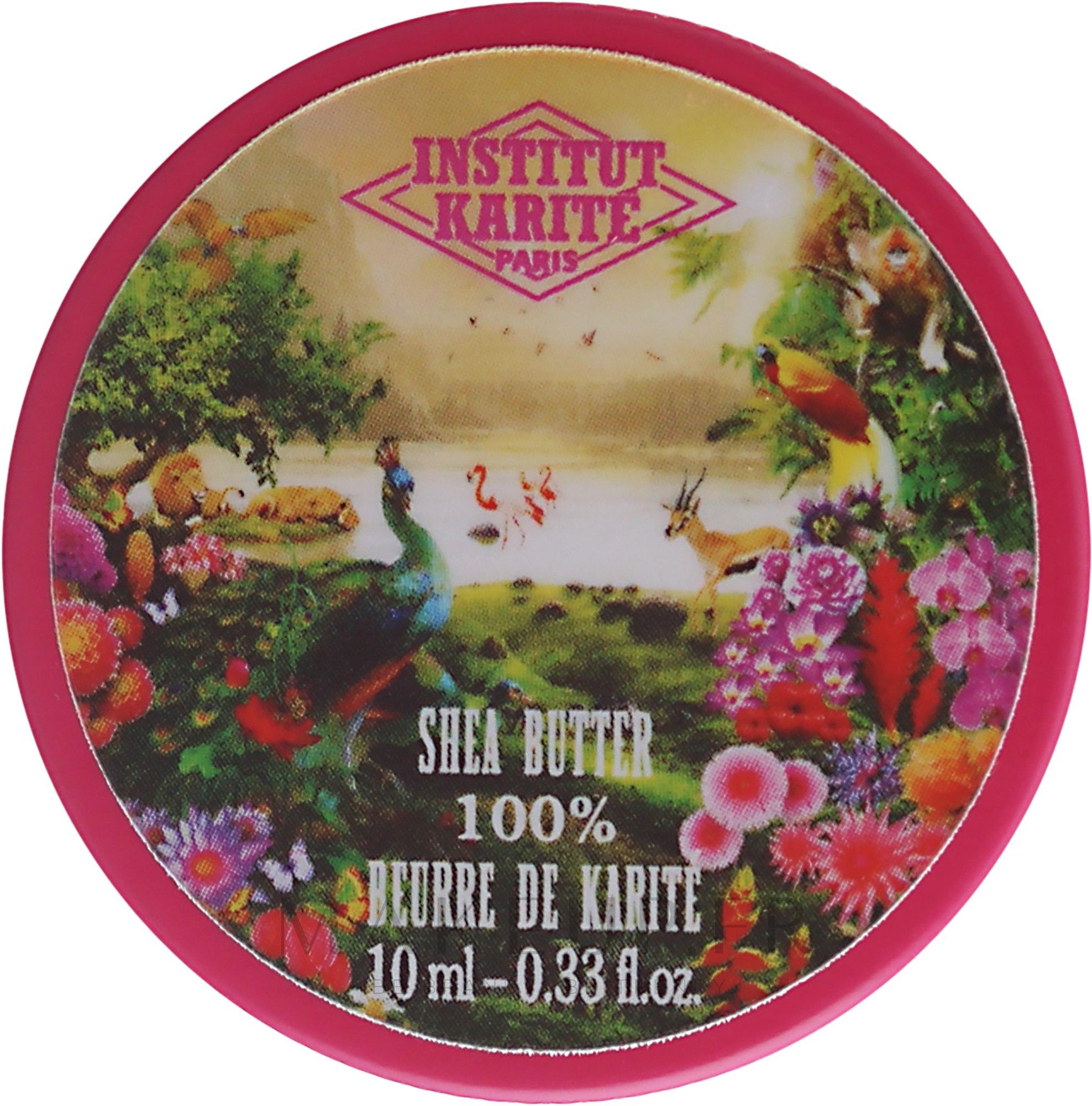 Beurre de karité parfumé Jungle paradisiaque, 100 % pur - Institut Karite Jungle Paradise Scented Shea Butter — Photo 10 ml