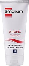 Parfums et Produits cosmétiques Emultion hydratante pour peaux atopiques, sèches et irritées - Emolium A-topic Emulsion