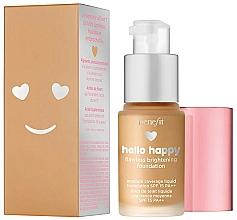 Parfums et Produits cosmétiques Fond de teint SPF 15 (mini) - Benefit Hello Happy Flawless Foundation