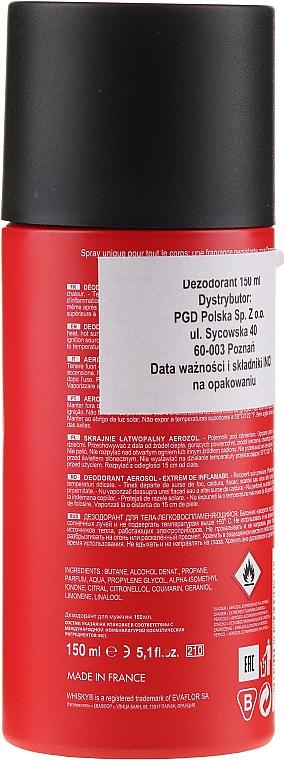 Evaflor Whisky Red For Men - Déodorant — Photo N2