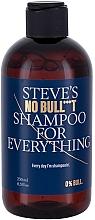 Parfums et Produits cosmétiques Shampooing à l'huile d'argan et caféine - Steve?s No Bull***t Shampoo for Everything