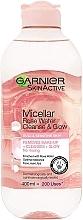 Parfums et Produits cosmétiques Eau micellaire à l'eau de rose - Garnier Skin Active Micellar Rose Water Cleanse & Glow