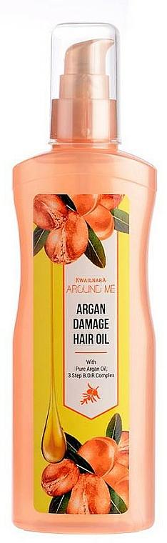 Huile d'argan pour cheveux - Welcos Around Me Argan Damage Hair Oil — Photo N1