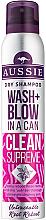 Parfums et Produits cosmétiques Shampooing sec à l'extrait de graine de jojoba - Aussie Dry Shampoo Wash + Blow in a Can Clean Supreme