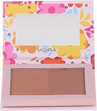 Parfums et Produits cosmétiques Poudre brozante - Moira Sunkissed Chic Bronzed Goddess Duo Palette