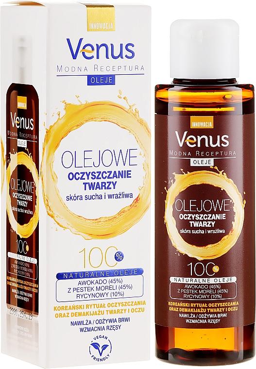 Huile nettoyante pour visage pour peaux sèches et sensibles - Venus Cleansing Oil