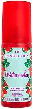 Parfums et Produits cosmétiques Spray fixateur de maquillage, effet mouillé - I Heart Revolution Fixing Spray Watermelon