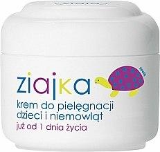 Parfums et Produits cosmétiques Crème au D-panthénol et vitamine E pour enfants - Ziaja Body Cream for Kids
