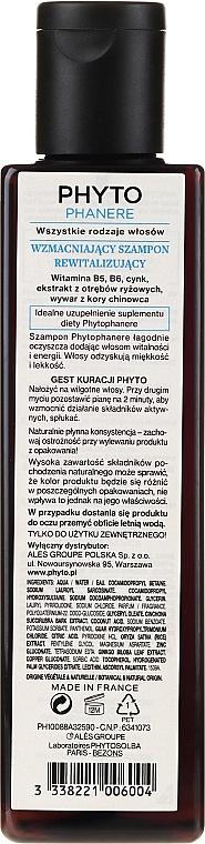 Shampooing aux vitamines B5 et B6 - Phyto Phytophanere Fortifying Vitality Shampoo — Photo N2