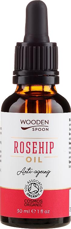 Huile bio de rose musquée - Wooden Spoon Rosehip Oil