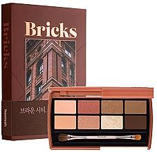 Parfums et Produits cosmétiques Palette d'ombres à paupières - Heimish Dailism Eye Palette Brick Brown