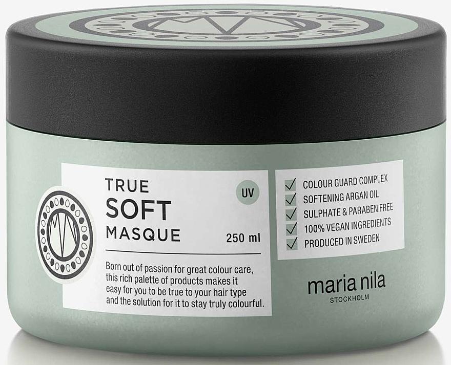 Masque à l'huile d'argan pour cheveux - Maria Nila True Soft Masque