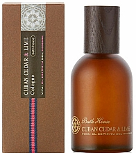 Parfums et Produits cosmétiques Bath House Cuban Cedar & Lime - Eau de Cologne