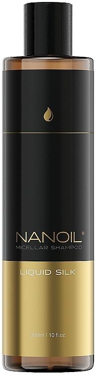 Shampooing micellaire à la soie liquide - Nanoil Liquid Silk Micellar Shampoo