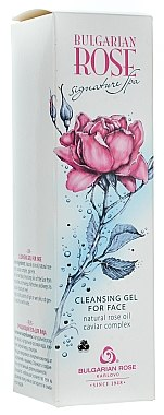 Gel nettoyant à l'huile de rose naturelle pour visage - Bulgarian Rose Signature Cleaning Gel — Photo N2