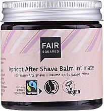 Parfums et Produits cosmétiques Baume après-rasage intime à l'huile d'olive - Fair Squared Apricot After Shave Balm Intimate