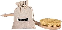 Parfums et Produits cosmétiques Brosse de massage en fibre de tampico pour corps - Hhuumm № 6