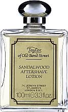 Parfums et Produits cosmétiques Taylor Of Old Bond Street Sandalwood Aftershave Lotion Alcohol-Based - Lotion après-rasage